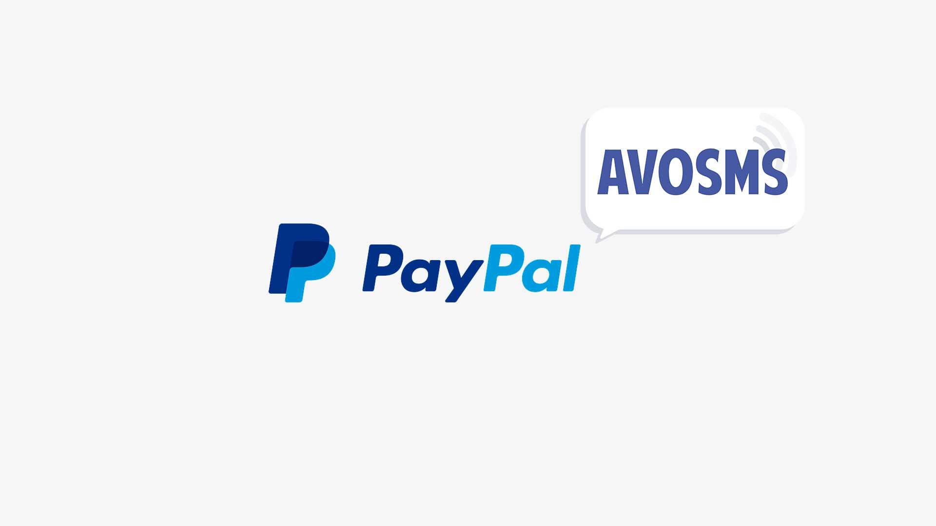 Payer par PayPal sur AvoSMS